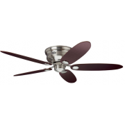 LOW PROFILE III BRUSHED NICKEL CEILING FAN