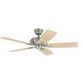 SAVOY BRUSHED NICKEL CEILING FAN