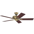 SAVOY ANTIQUE BRASS CEILING FAN