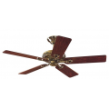 SAVOY BRIGHT BRASS CEILING FAN