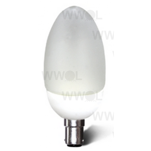 3 WATT 3000K WARM WHITE E27 LED CANDLE GLOBE