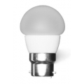 3 WATT 3000K WARM WHITE E27 FANCY ROUND GLOBE