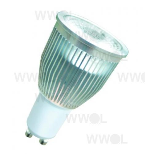 lumen 9 watt cob led gu10 3000k warm white 60 degree non dimmable globe. Black Bedroom Furniture Sets. Home Design Ideas