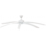 WINDPOINTE LARGE 203CM 5 BLADE WHITE TROPICAL CEILING FAN