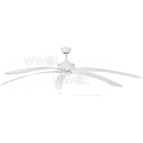 Windpointe large 203cm 5 blade white tropical ceiling fan aloadofball Image collections