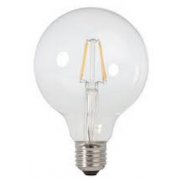 0.5 WATT LED SPHERICAL 125 FILAMENT E27 2200K WARM WHITE GLOBE
