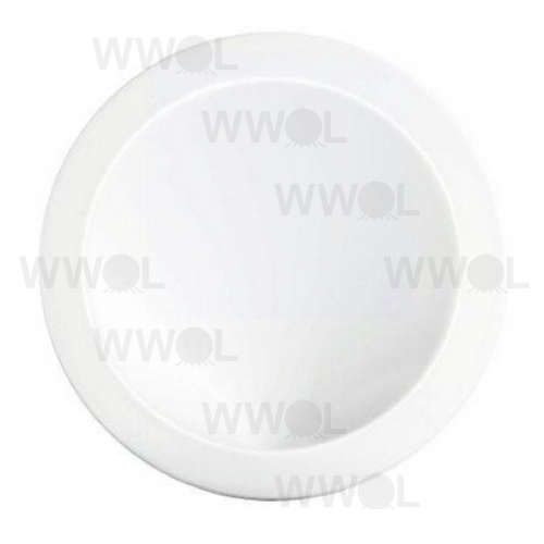 W900 WHITE CURVE LED WALL LIGHT 16 WATT 3000K WARM WHITE