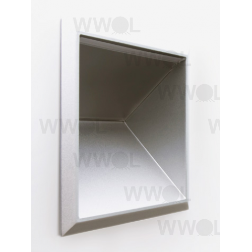 W900 WHITE CUBE LED WALL LIGHT 19.3 WATT 3000K WARM WHITE