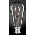 4 WATT PEAR LED ST15 CARBON B22 GLOBE