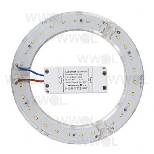 14 WATT LED CIRCULAR 3000K WARM WHITE GLOBE INCL DRIVER