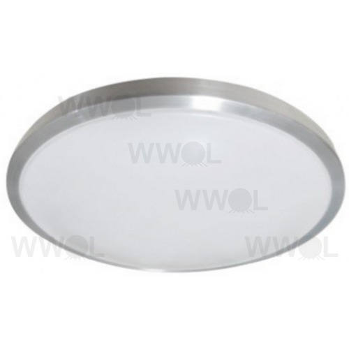 28 WATT LED 3000K TITANIUM OPAL SURFACE MOUNT LIGHT
