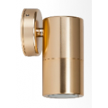 5 WATT LED FIXED DOWN ANODISED ALUMINIUM GOLD 3000K 240V EXTERIOR LIGHT