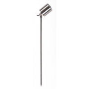 5 WATT LED SINGLE 12 VOLT ADJUSTABLE SPIKE SPOT COOL WHITE 316 STAINLESS LONG SPIKE