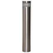 MAXI BOLLARD 3.5 WATT LED LIGHT 316 STAINLESS STEEL COOL WHITE