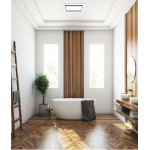 TASTIC LUMINATE VENT EXHAUST FAN SILVER