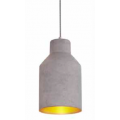 SQUARED CONICAL CONCRETE PENDANT