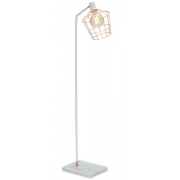 ROSE GOLD WITH WHITE MARBLE 160CM FLOOR LAMP