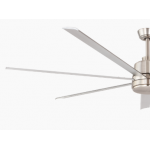 TOURBILLION SEVEN BLADE DC 203CM ALUMINIUM INCL 5 SPEED REMOTE CEILING FAN