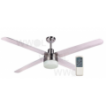 TRISERA 4/3 BLADE 120CM STAINLESS FAN LIGHT REMOTE