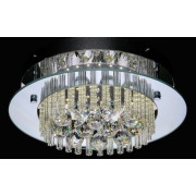 TUSCANY 17 WATT LED CRYSTAL CEILING LIGHT 4000K COOL WHITE