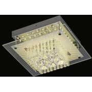 VALENCIA 12 WATT LED CRYSTAL CEILING LIGHT 4000K COOL WHITE
