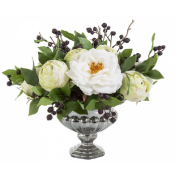 Vidor Rose Bowl Silver