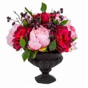 Vidor Rose Bowl Black