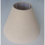 MASON AND FINCH COOLIE HESSIAN LAMP SHADE 100(T) X 200(B) X 150(H)