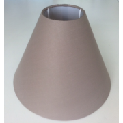 MASON AND FINCH COOLIE LIGHT GREY LAMP SHADE 100(T) X 200(B) X 150(H)