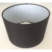 Lamp shades mason and finch drum black lamp shade 200t x 200b aloadofball Images