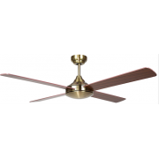 AIR SYNERGY II 130CM ANTIQUE BRASS CEILING FAN