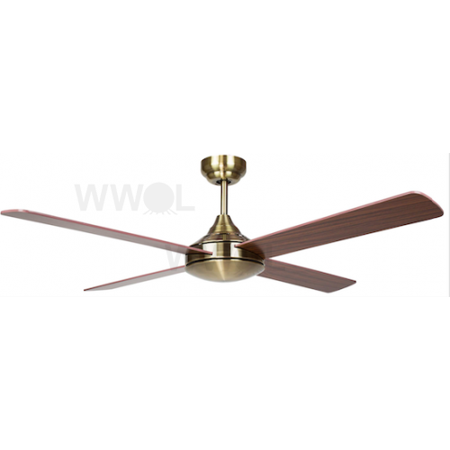 AIR SYNERGY II 106CM ANTIQUE BRASS CEILING FAN