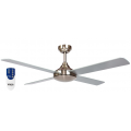AIR SYNERGY II 106CM BRUSHED NICKEL CEILING FAN REMOTE PACKAGE