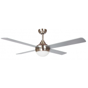 AIR SYNERGY II 106CM BRUSHED NICKEL CEILING FAN WITH LIGHT