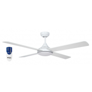 AIR SYNERGY II 106CM MATT WHITE CEILING FAN REMOTE PACKAGE