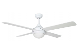 AIR SYNERGY II 120CM MATT WHITE CEILING FAN WITH LIGHT