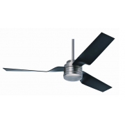 CABO FRIO PEWTER INCL BLACK BLADES CEILING FAN