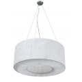 HALO 60CM WHITE DRUM PENDANT