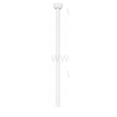 900MM CEILING FAN EXTENSION ROD WHITE