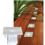 LED 5 PACK SQUARE DECK LIGHT