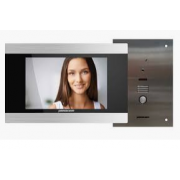 FLUSH AUDIO VISUAL HD TOUCH SCREEN INTERCOM KIT (HIGH DEF)