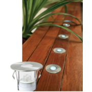 LED 5 PACK ROUND DECK LIGHT