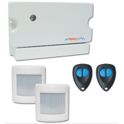 PROFESSIONAL GRADE BACK TO BASE MONITORED WIRELESS ALARM SYSTEM FOR HOME OR OFFICE